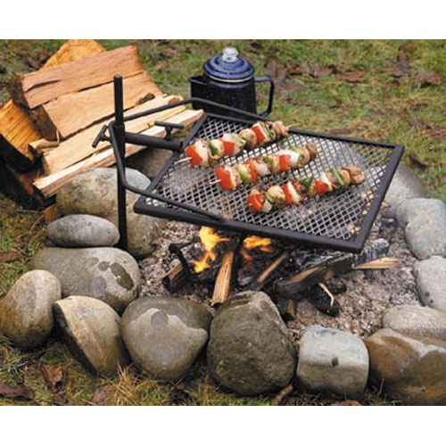 rust how to cook food on campfire