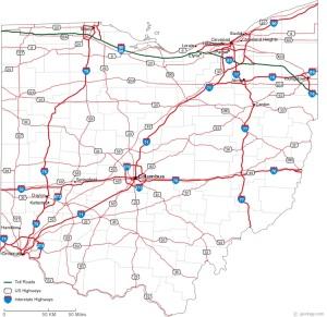 ohio-road-map
