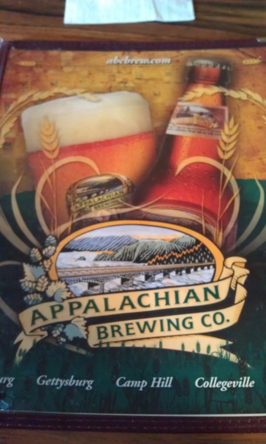Appalachian Brewing Co. in Gettysburg, Pennsylvania