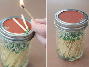 diy_mason_jar_match_storage_with_sandpaper_striker_on_lid