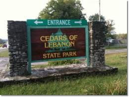 Cedars Of Lebanon State Park, LebanonTN