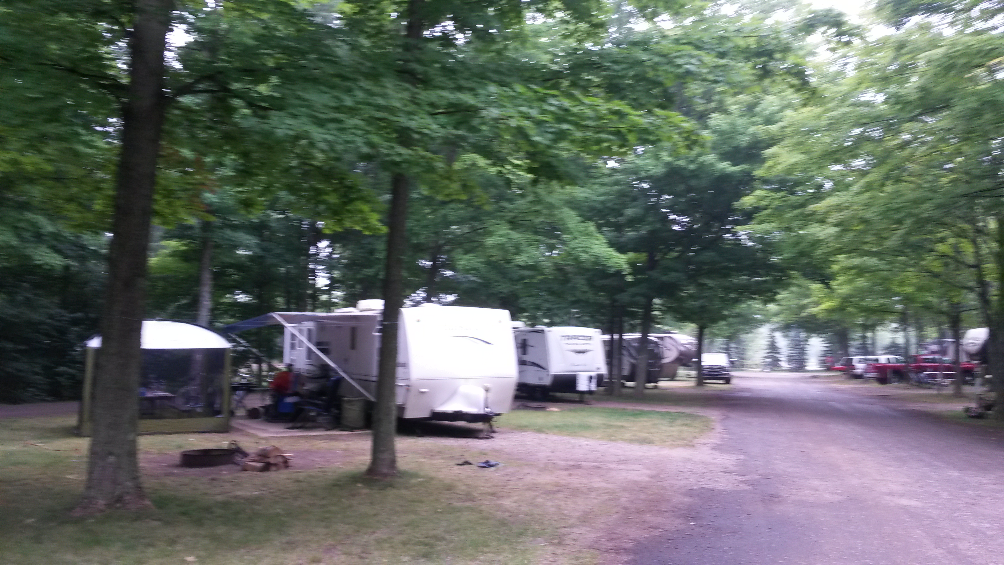 Indigo Bluffs Rv Park Empire Mi Crazy4camping