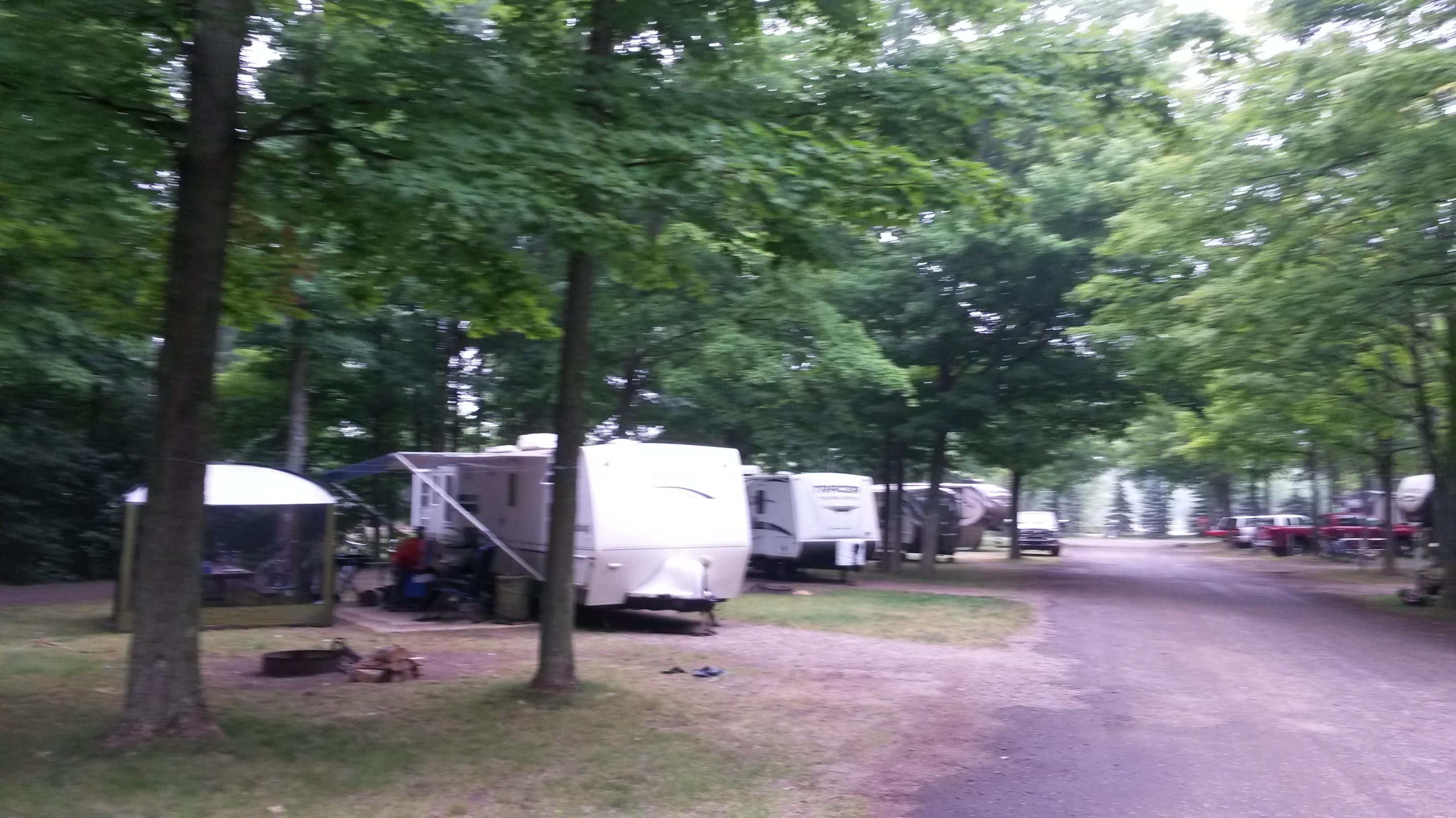Indigo Bluffs Rv Park Empire Mi Crazy4camping