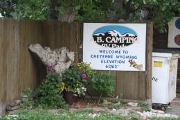 A. B. Camping RV Park, CheyenneWY